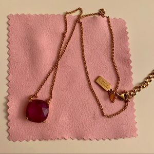 Kate Spade Purple Stone Necklace